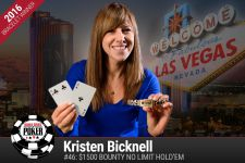 Winner Kristen Bicknell