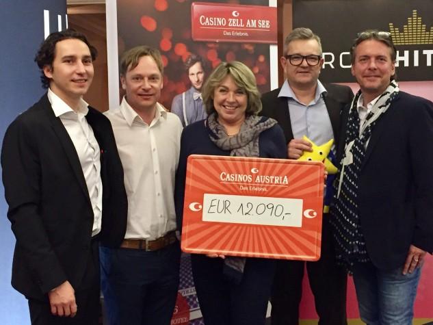 € 12.090 für die Stiftung Kindertraum bei der Coolman Night Race Poker Charity