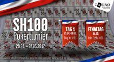Tobias S. siegt nach Deal beim Finale des SH100 im Casino Lübeck