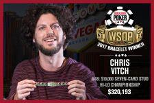 WSOP 2017 #48 – Chris Vitch bezwingt Benny Glaser