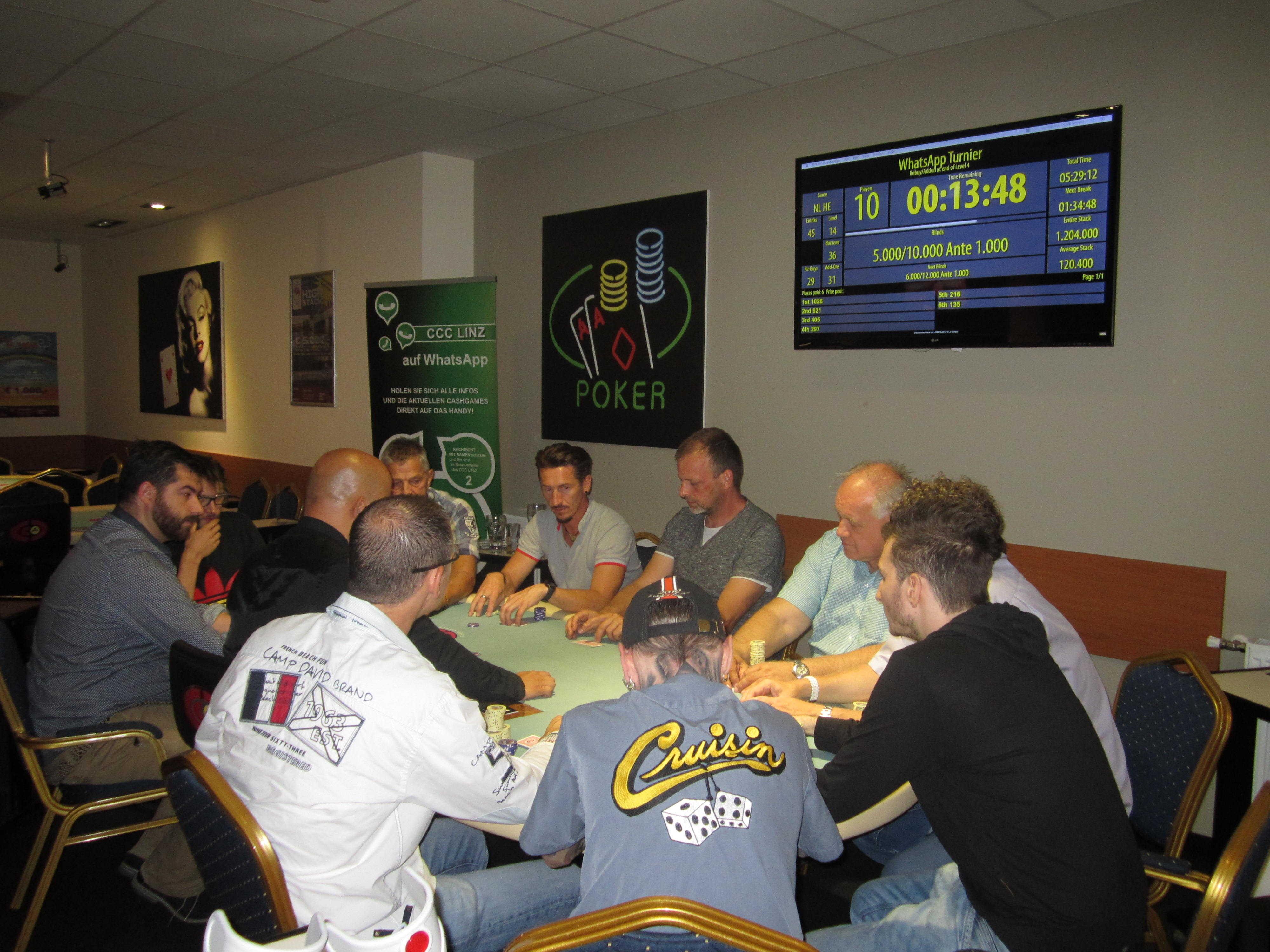 Poker line