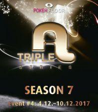 Start beim Triple A Main Event in Berlin