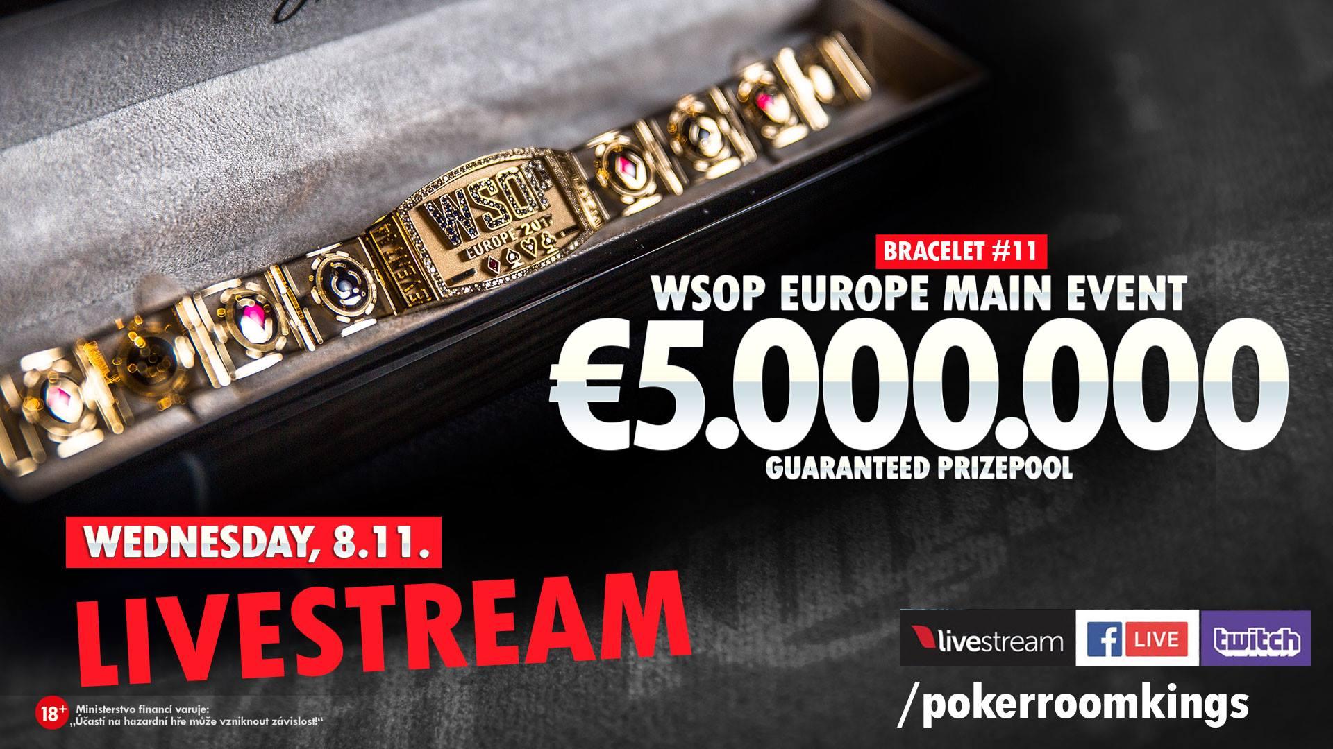 kings casino wsop europe