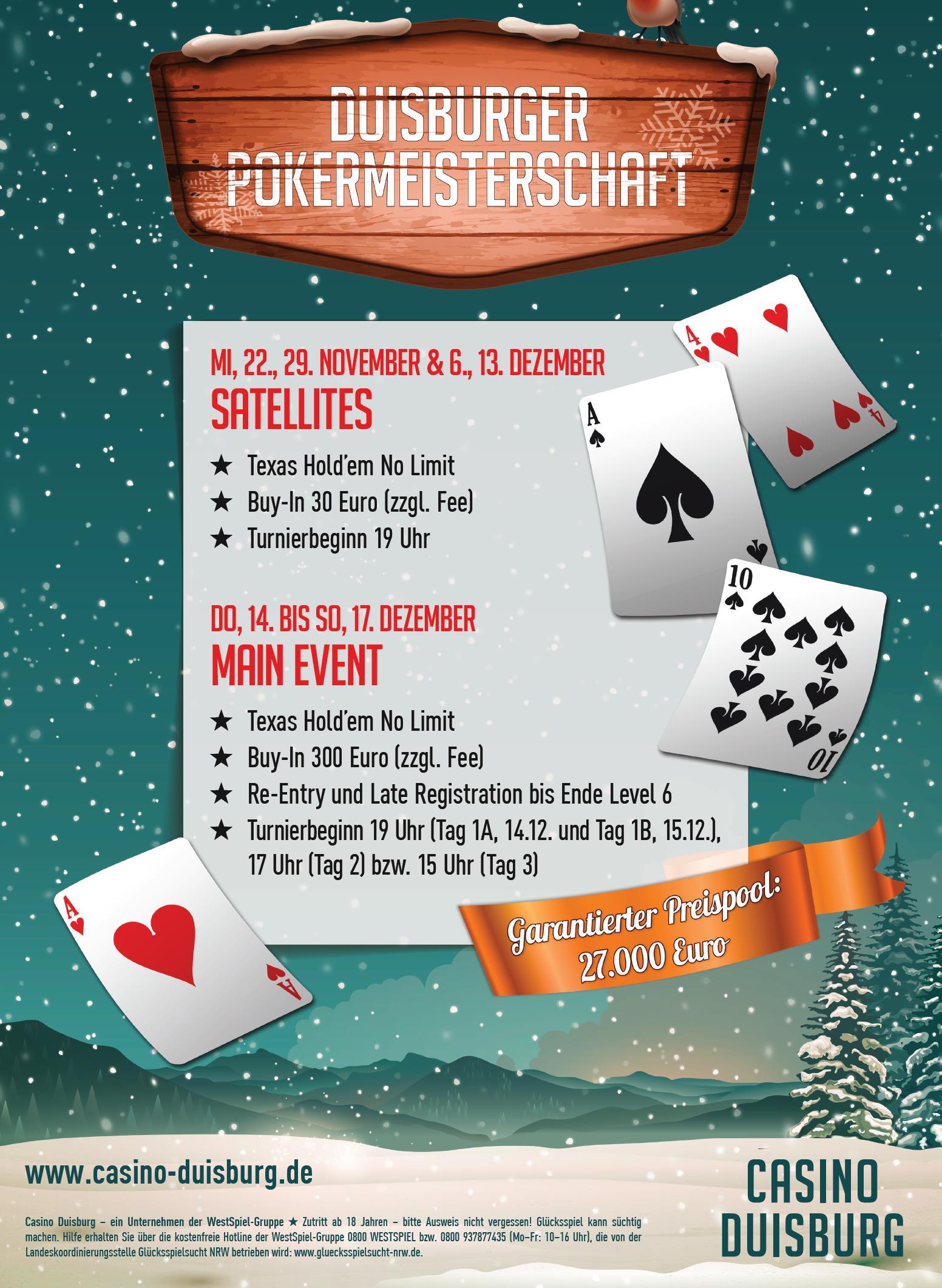 Duisburger Poker Meisterschaft