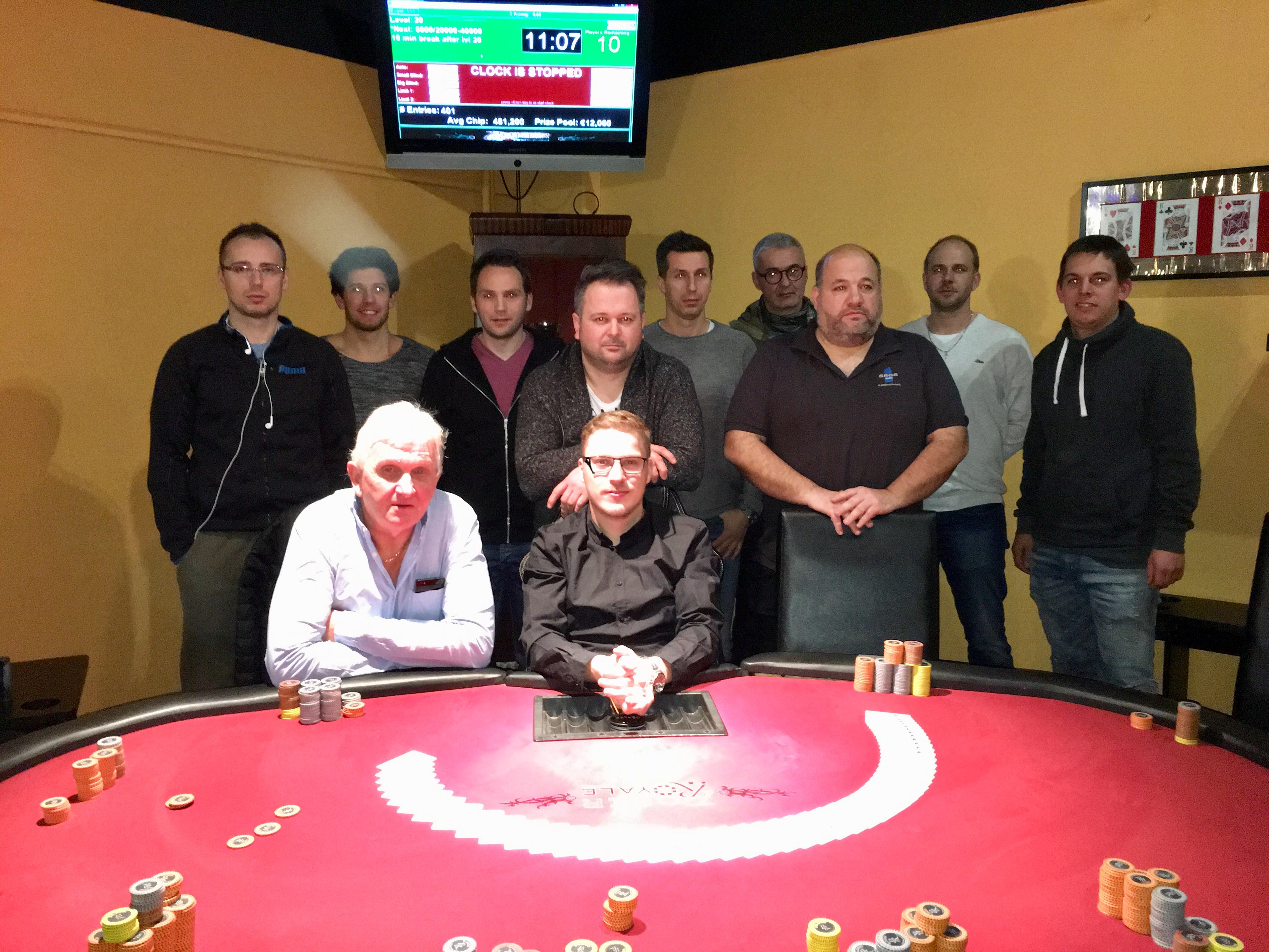 8 Way Deal Beendet Das 3 Konigsturnier Im Poker Royale Wiener Neustadt Pokerfirma