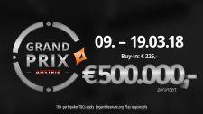Die partypoker Grand Prix Austria Qualifikation läuft auf Hochtouren