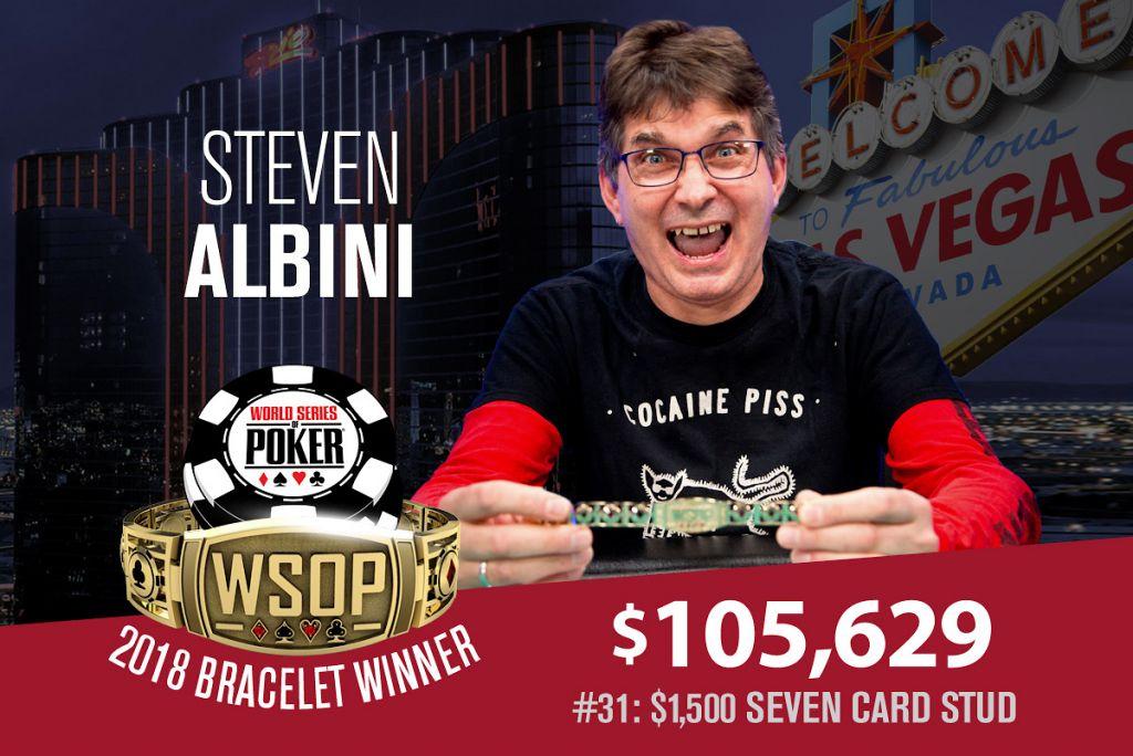 WSOP 2018 #31: Steve Albini verweigert Jeff Lisandro das Bracelet