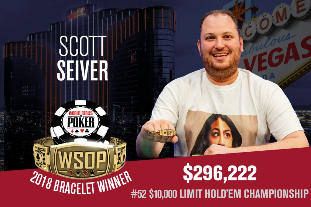 WSOP 2018 #52: Scott Seiver holt die 10k Limit Hold'em Championship