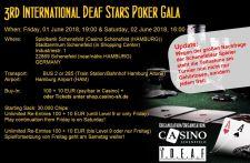 Ansturm beim Deaf Star Poker im Casino Schenefeld