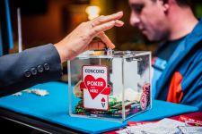 Teilung beendet das Poker mit Herz Special im CCC Simmering