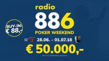 88,6 Poker Weekend: Volles Haus und mehr als € 62.000 im Pot