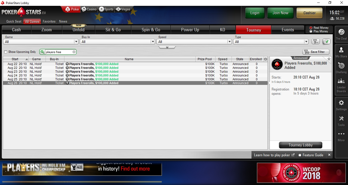Pokerstars Verbindungsprobleme