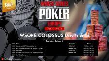 WSOPE Event # 1: Chris Ferguson ist der Bubble am Colossus Tag 1B