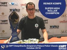 WPTDeepstacks: Rainer Kempe holt das Super High Roller in Johannesburg