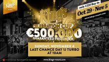 King's Celebration Cup: Spieleransturm knackt die € 500k Garantie