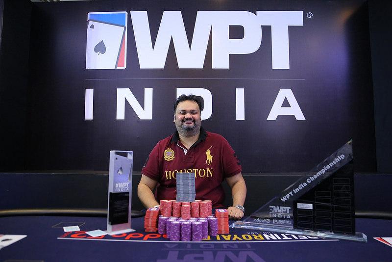 WPTDeepStacks India: Jhunjhunwala gewinnt das Rekordturnier