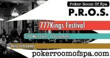 Pokerroom of Spa: Aufwärmen für das 777 Kings Festival