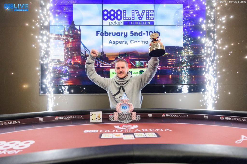 James Williams gewinnt das 888poker LIVE London
