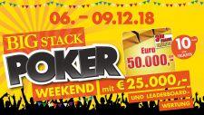 Montesino: Big Stack Weekend eröffnet den Jahresendpsurt