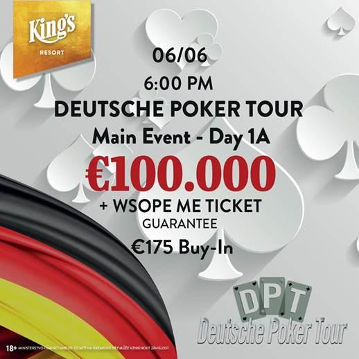 Deutsche Poker Tour Rozvadov