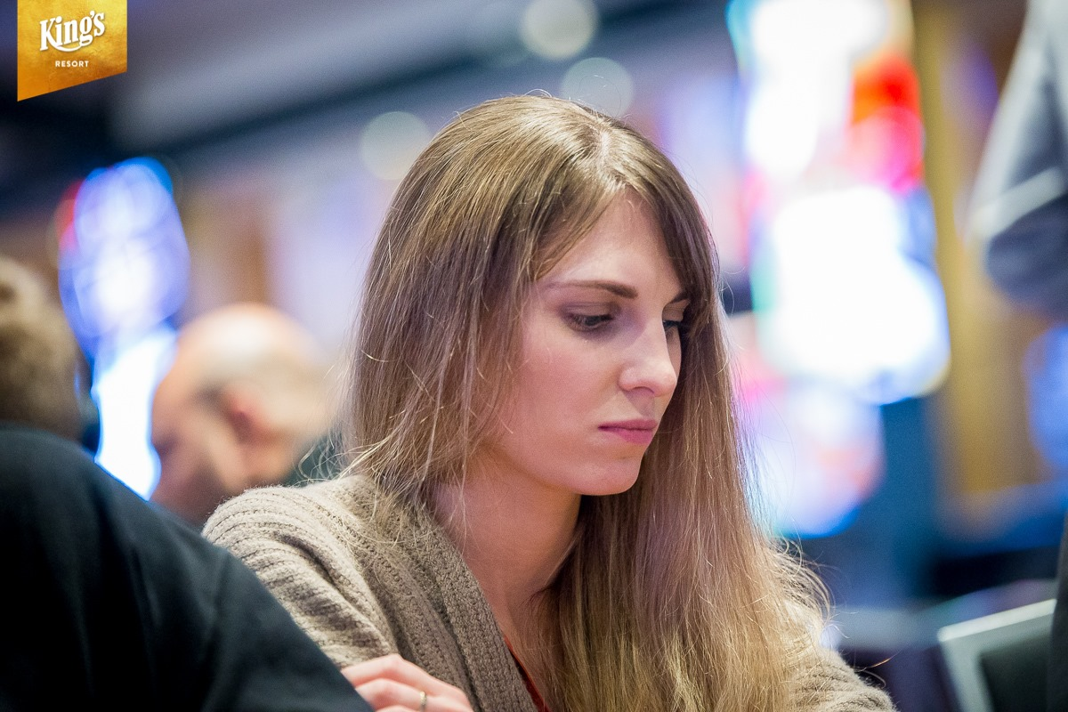 Angelika Jager live poker | german poker days main event tag 1c & 1d
