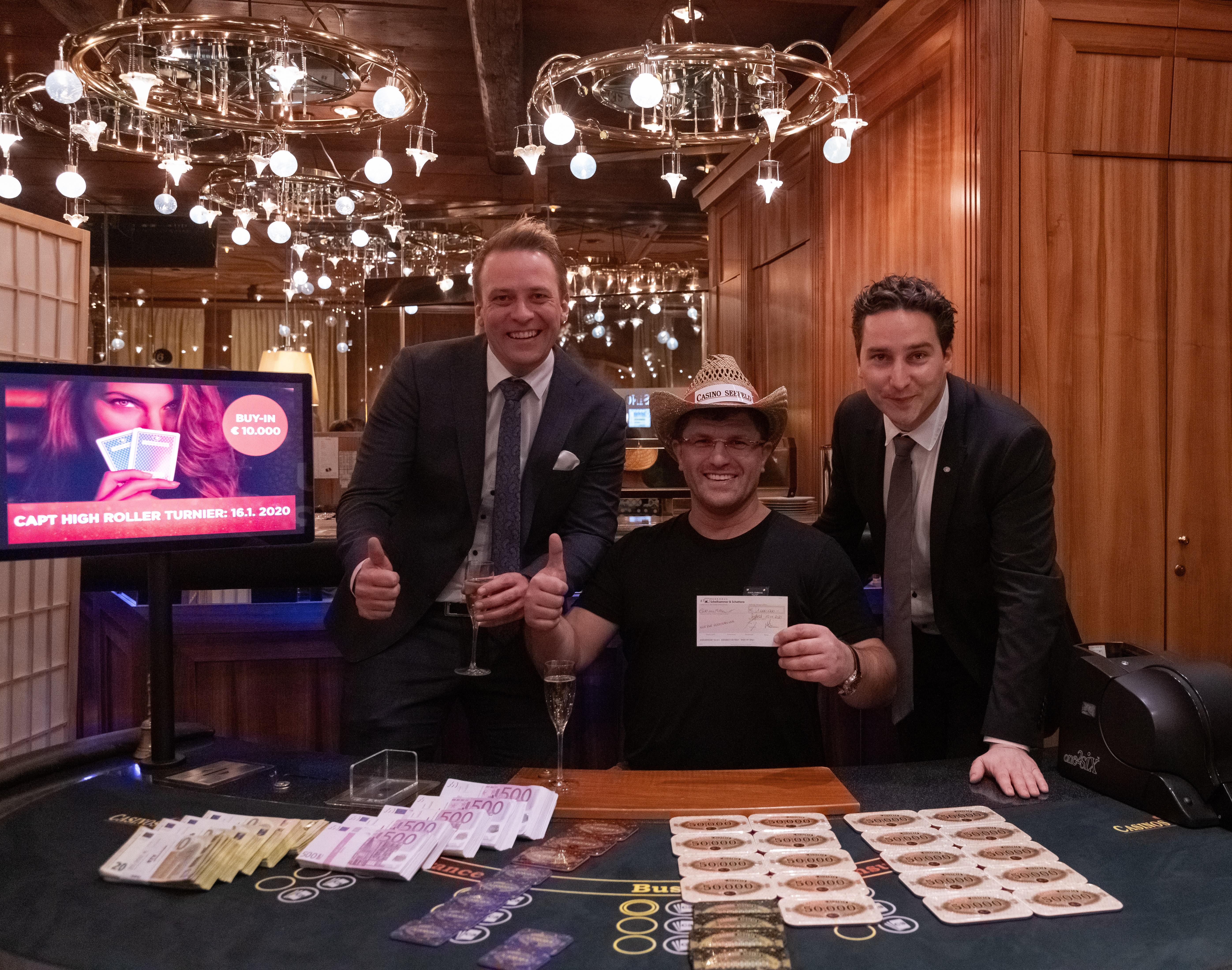 King's Boss Leon Tsoukernik schnappt bei seinem Ausflug ins Casino Seefeld € 1.372.500