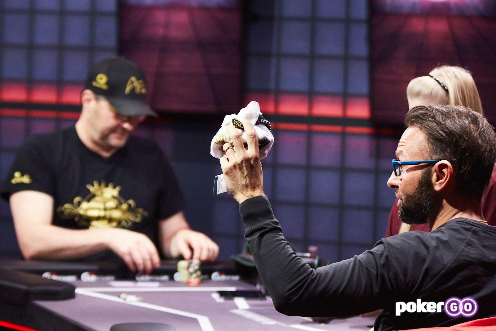 High Stakes Duel II Round 1 Daniel Negreanu