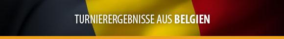 Turnierergebnisse - Belgien