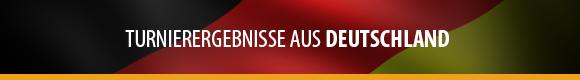 Turnierergebnisse - Deutschland