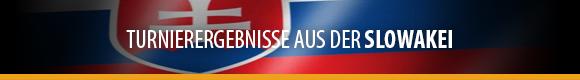 Turnierergebnisse - Slowakei